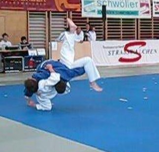 Judo Turnier Berndorf Kampf Enzesfeld