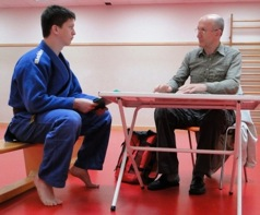 Judo prüfung Baden Thermenregion Leobersdorf